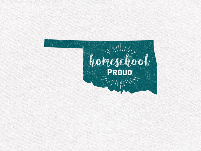 Oklahoma Homeschool Proud T-Shirt