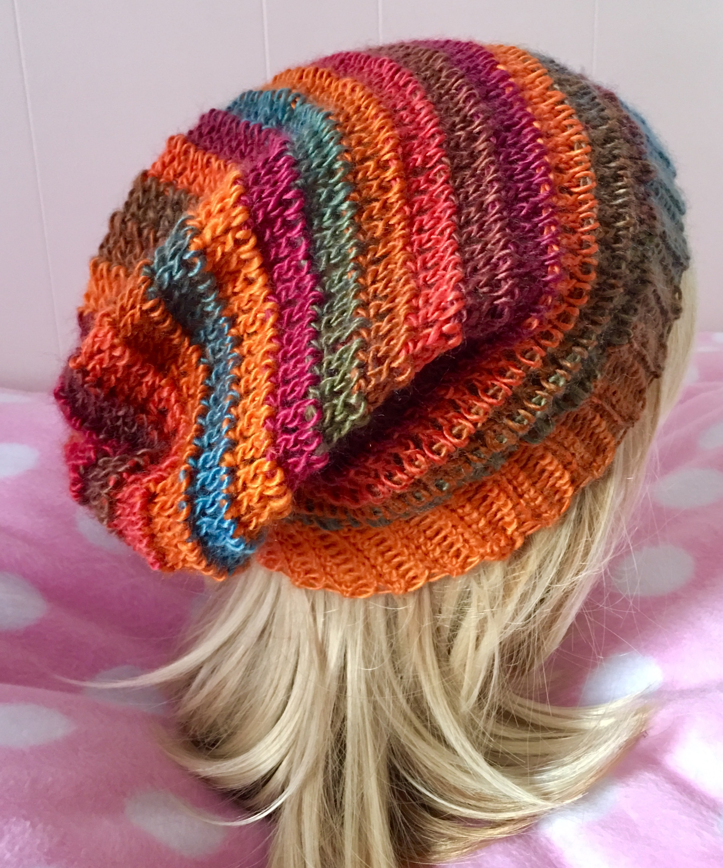 0e5e291b1df READY TO SHIP Crochet Orange Blue by Crafty Kitty Crochet on Zibbet