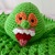 READY TO SHIP Slimy Ghost Monster Lovey - Security Blanket, Stuffed Plush