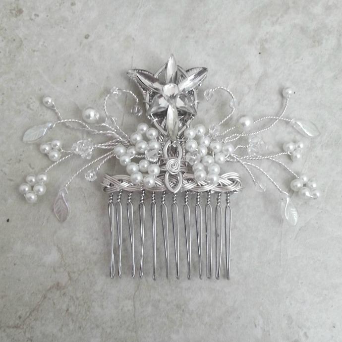 Evenstar Bridal Hair Comb