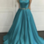 Charming Prom Dress,Satin Prom Dress,A-Line Prom Dress,Strapless Prom Gown 0787