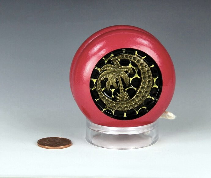 Parker Pro Wood YoYo, Imperial Fixed Axle, made in the 1970's & customized by