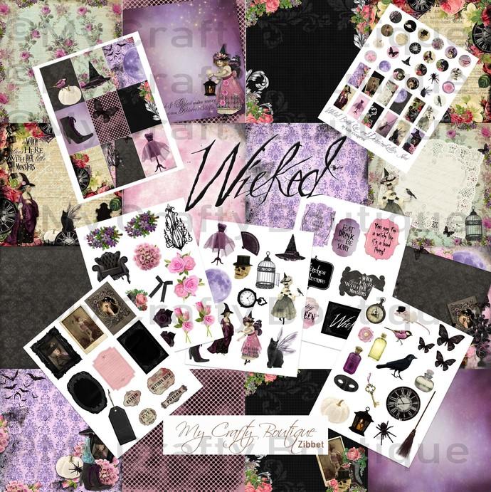"""""""Wicked"""" Printable Kit"""