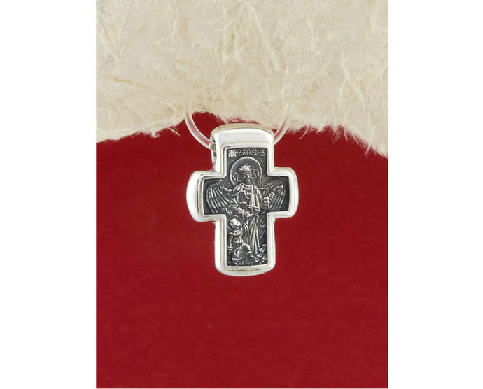 Sterling Silver Handmade Cross Pendant/Religious pendant for Necklace/Jesus