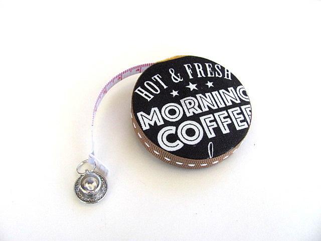 Tape Measure Love Coffee Retractable Measuring Tape