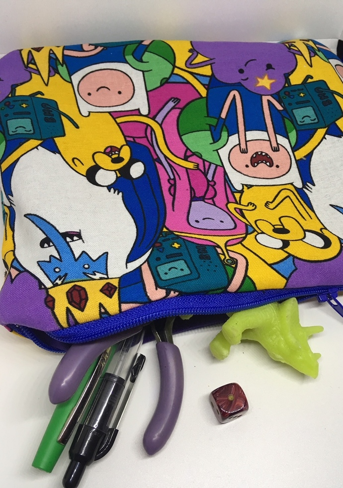 Adventure Time! -Zipper Bag