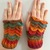READY TO SHIP Dragon / Mermaid Scale Gloves, Orange / Blue / Green / Gold -
