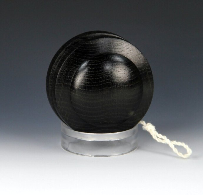 3,720 year old Russian Bog Oak Satellite Yo-Yo, lathe turned in the USA - Rare