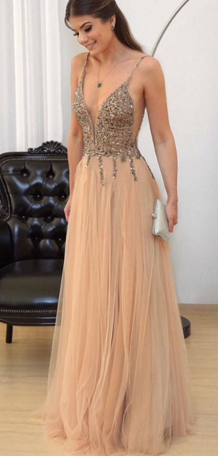 Cheap prom dresses Champagne Prom Dress, by Dress Storm on Zibbet
