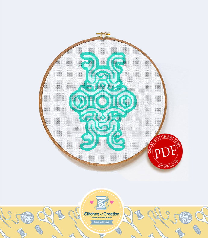 Shadow of the Colossus | Digital Download | Geek Cross Stitch Pattern | Video