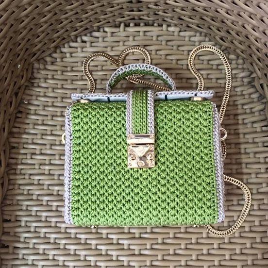 Beautiful handmade crochet bag