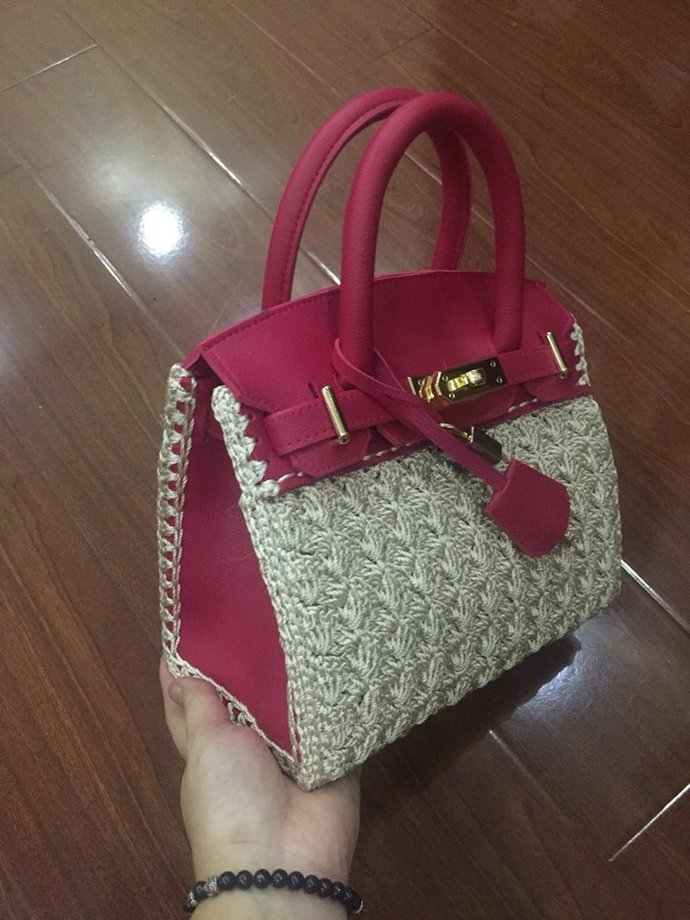 Beautiful handbag, inspired of Hermes Birkin Beautiful handbag