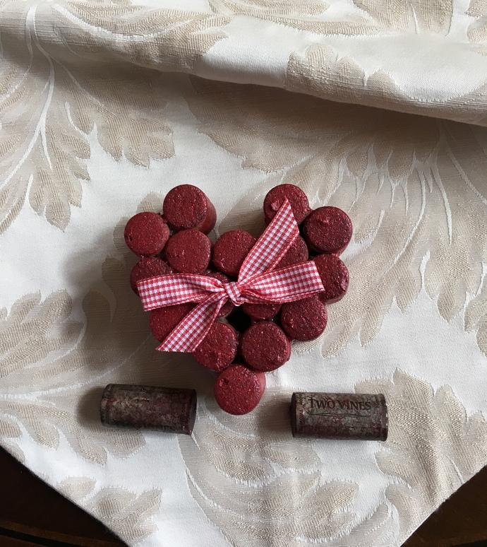 Wine Cork Heart
