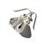 Tourmalinated Quartz Sterling Earrings Black White Quartz Black Tourmaline