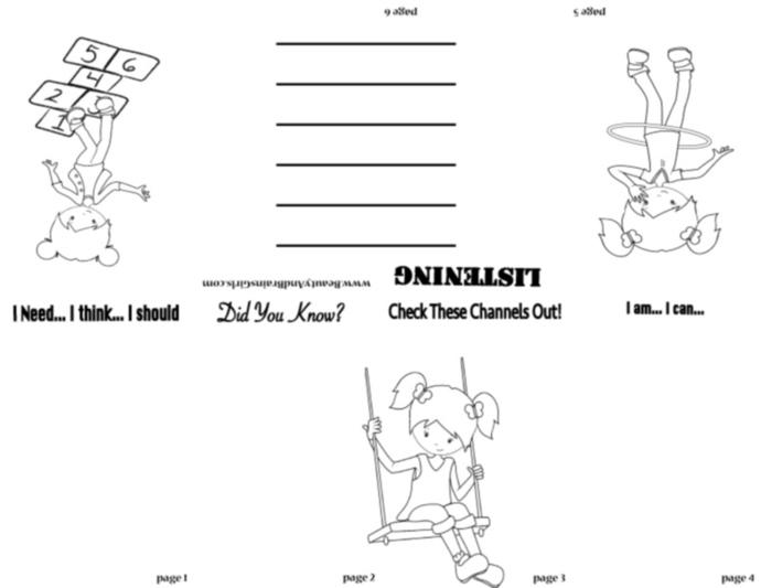 Ballerina  PDF Zine  Book  -Scrapbooking Digital ZINE Frame-Scrapbook Art