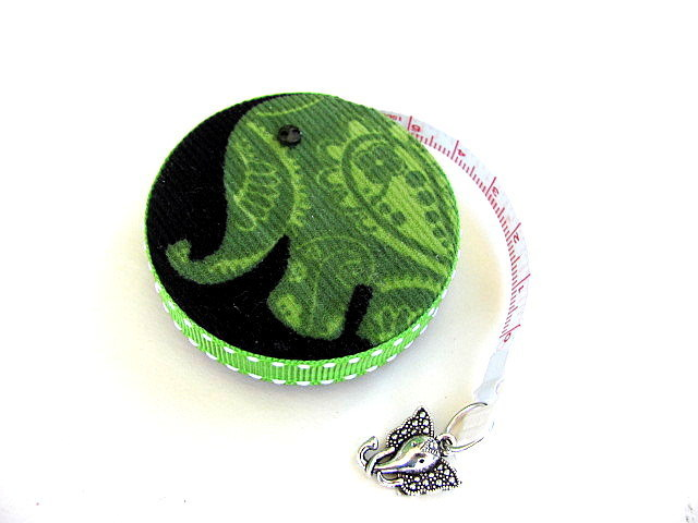 Measuring Tape Elephant Corduroy Pocket Retractable Tape Measure