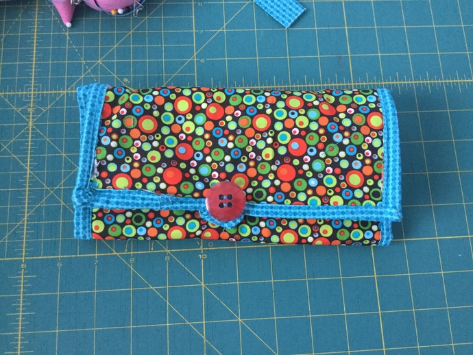 Bubble Dot Makeup Brush Bag