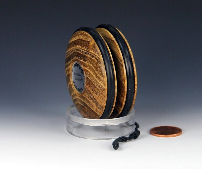 Handmade Yo-Yo, lathe turned in the USA from Indiana Black Locust Wood