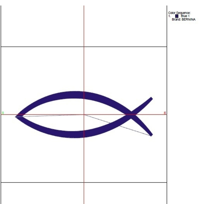 Machine Embroidery Design jesus 4x4 5x7 Christian Fish pes designs machine