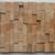 Unique wooden mosaic pattern 3D