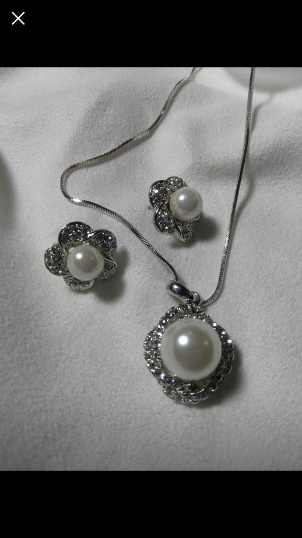 Silver sterling set