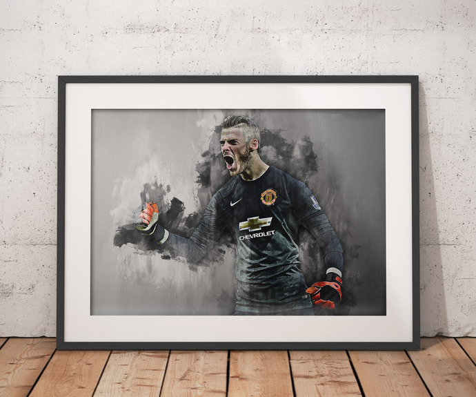 De Gea poster De Gea poster  wall art home decor