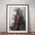 Deadpool print Deadpool poster wall art home decor