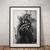 Lemmy poster Lemmy print wall art home decor