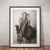 Wonder Woman Poster Gal Gadot wall art home decor
