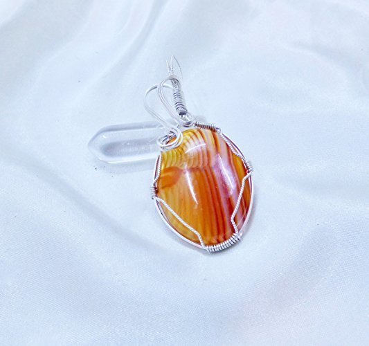 Evening Glow Sterling Silver Pendant