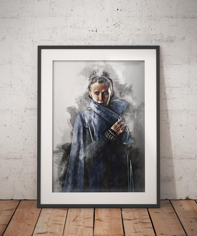 Princess Leia poster wall art home decor