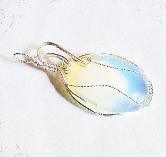 Opalite in Sterling Silver Pendant