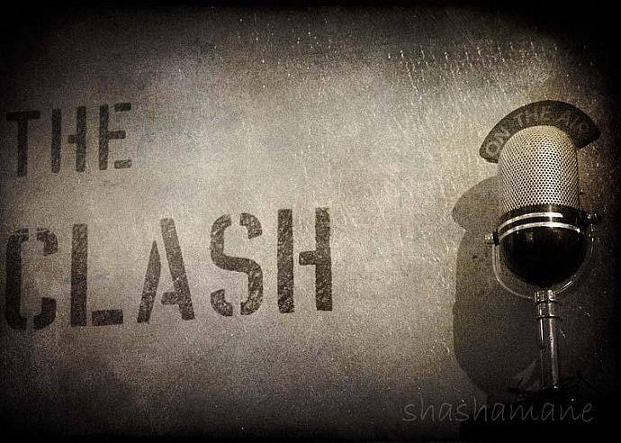 The Clash on the air 5x7 fine art photography print