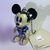 Japan Import Disney Iridescent Jointed Mickey Mouse In BLUE Spacesuit Cell Phone