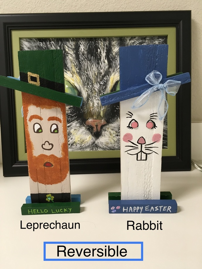 Reversible Leprechaun / Rabbit