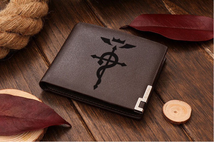 Fullmetal Alchemist Leather Wallet