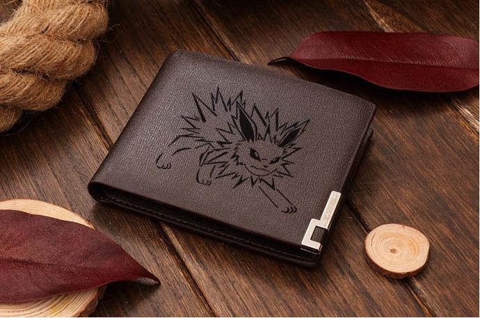 Pokemon Jolteon Leather Wallet