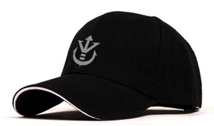 Dragonball Vegeta Saiyan Royal Crest Adjustable Baseball Cap