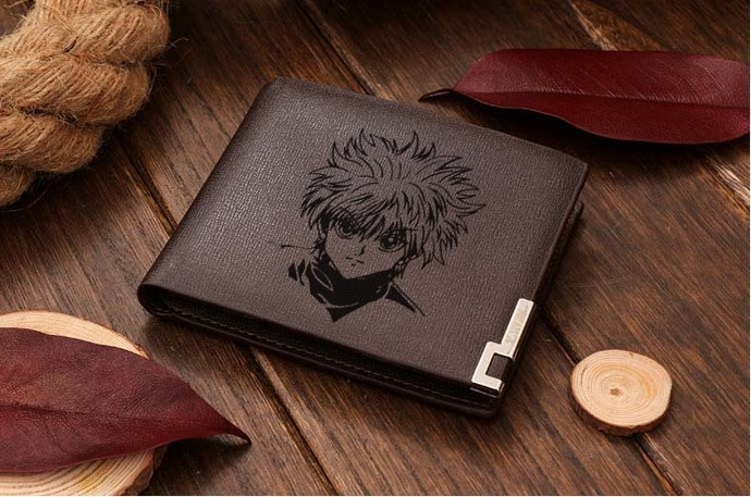 Hunter X Hunter KILLUA Leather Wallet
