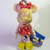 Japan Disney Iridescent Jointed Fancy Coloured Minnie Mouse In Red Dress Cell