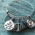 Silver Bracelet, scales of justice, Lawyer Gift, Scales charm, Libra, Scales