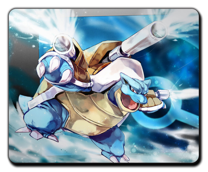 Pokemon BLASTOISE MOUSEPAD Mouse Mat Pad