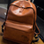 Dinosaur Leather Backpack