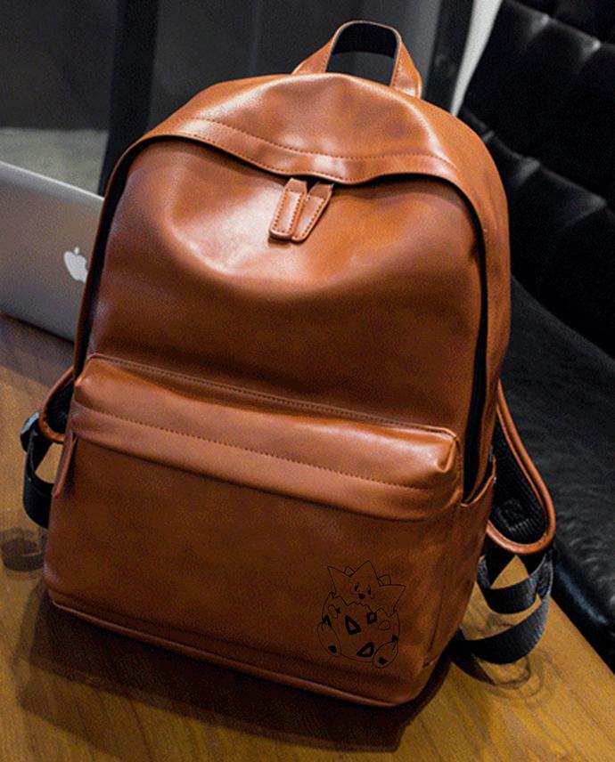POKEMON TOGEPI Leather Backpack