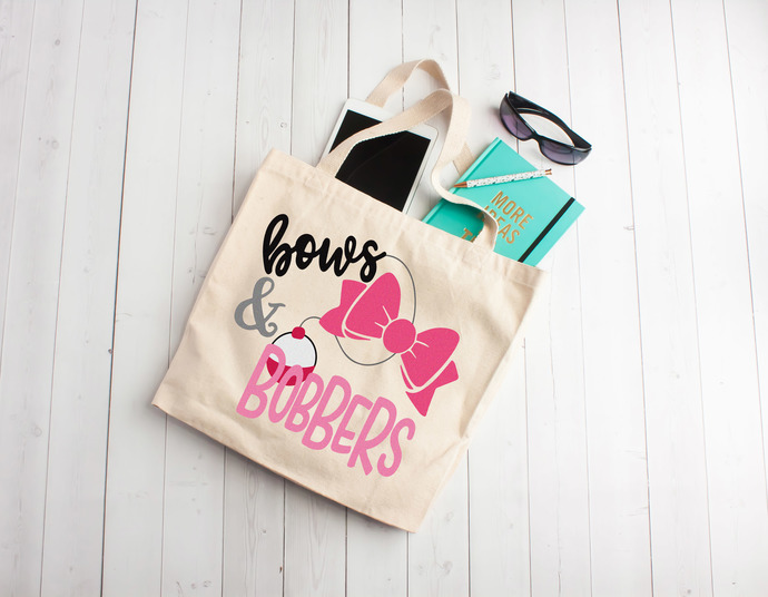 Bows and bobbers, cheer bag, custom cheerleading bag, personalized girl bag,