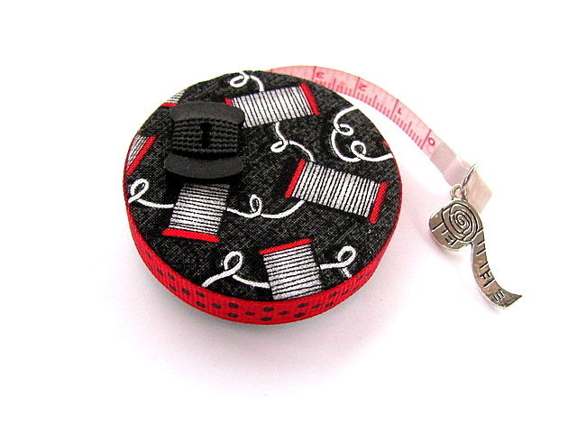 Tape Measure Spools of Thread Retractable Measuring Tape