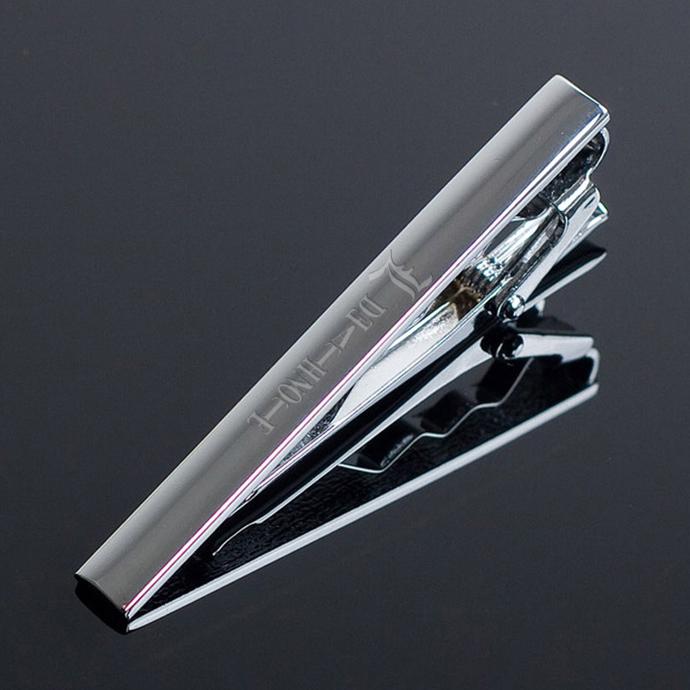 Death Note Metal Tie Clip Clasp Bar