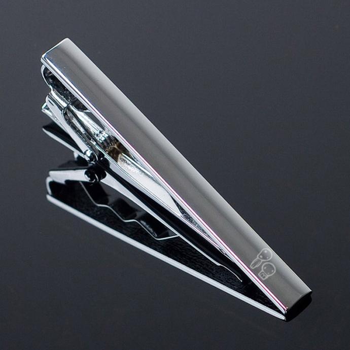 Princess Mononoke Kodama Metal Tie Clip Clasp Bar