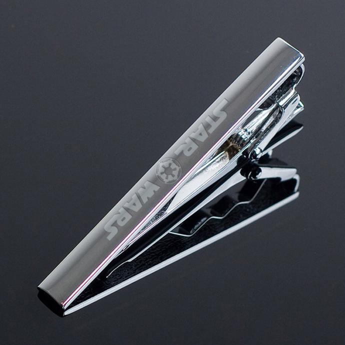 star wars Imperial Logo Metal Tie Clip Clasp Bar