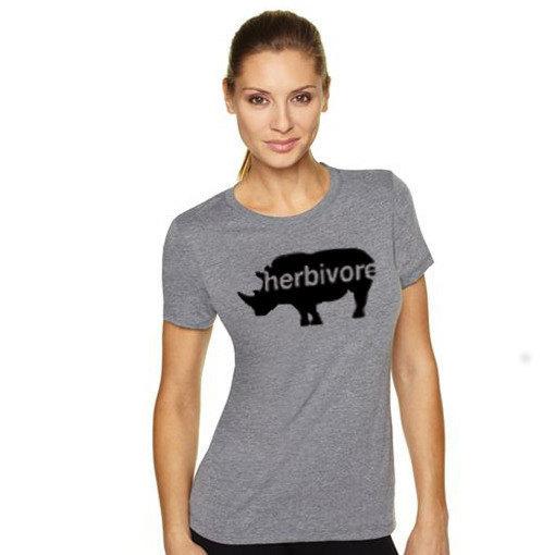 HERBIVORE Vegetarian Vegan Ladies T-shirt